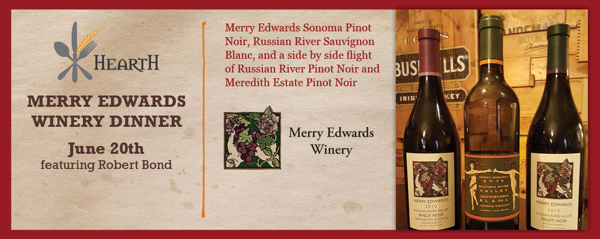 Merry Edwards Winery Dinner